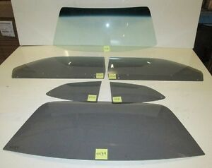 1973 Early 1974 Demon Duster 2 Dr Ht Gb Windshield Yt Door Quarter Back Glass