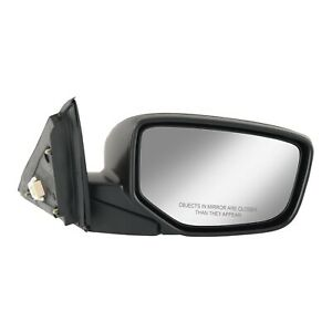 Power Mirror For 2008 2012 Honda Accord Sedan Right Heated Paintable Manual Fold