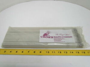 Crown Alloys E309 16 Stainless Electrode Stick Welding Rods 1 8 x14 5lbs