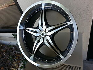 20 Inch Sovrano S5 Black M Wheels Tires Fit 5 X 114 3 Visit My Page