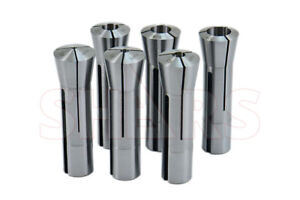 Shars 6 Piece Precision R8 Collet Set By 8ths 0006 Tir New A