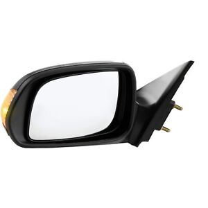Power Side View Mirror W Turn Signal Driver Left Lh New For 05 10 Scion Tc