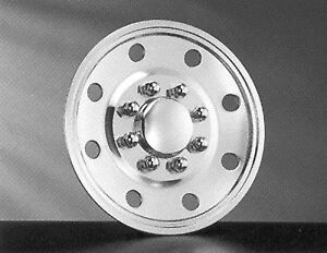 Wheel Simulators Hubcaps Stainless Steel Set Of Four 16 Inch Fits Fords