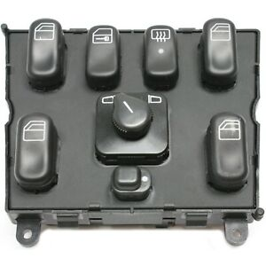 Center Console Master Power Window Mirror Switch New For Mercedes Benz Ml Class