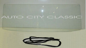 Mustang Hardtop Clear Back Glass 1964 1965 1966 1967 1968 Notchback Seal