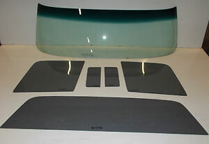 Ford Pickup Truck Glass 1961 1962 1963 1964 1965 1966 Windshield Vent Door Back