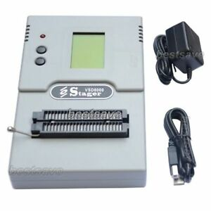 Vsd8000 Eeprom Flash Mcu Pld Single batch Off line Universal Programmer B0403