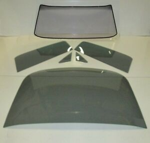 Grey Glass 1965 1966 Ford Mustang Fastback Windshield Vent Door Back