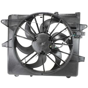 Radiator Cooling Fan Motor Blade Shroud For 05 14 Ford Mustang New