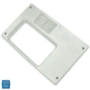 1968 1969 Camaro Console Top Plate For 6 Speed Manual Billet Aluminum Cnc Finish