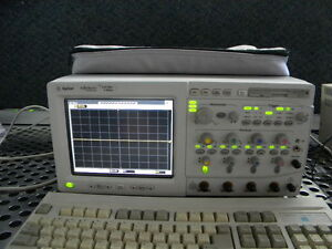 Agilent Hp 54846a 4 Channel 2 25ghz 8 Gsa s Infiniium Digital Oscilloscope
