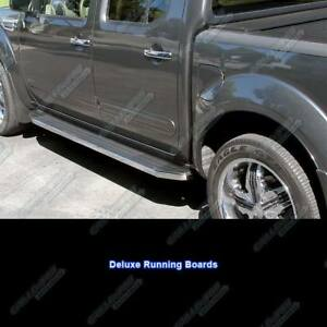 Fits 2005 2017 Nissan Frontier Crew Cab 79 Side Steps Nerf Bars Running Boards