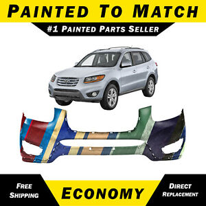 New Painted To Match Front Bumper Cover For 2010 2011 2012 Hyundai Santa Fe