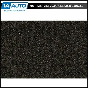 For 86 95 Suzuki Samurai Without Roll Bar Cutpile 897 charcoal Cargo Area Carpet