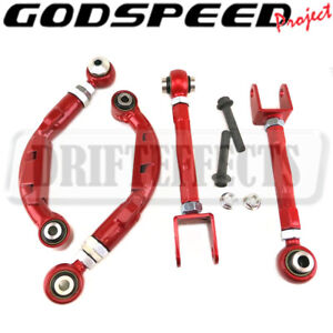 Godspeed Adjustable Rear Camber Toe Arm Kits Suspension For Ford Mustang 2015 20