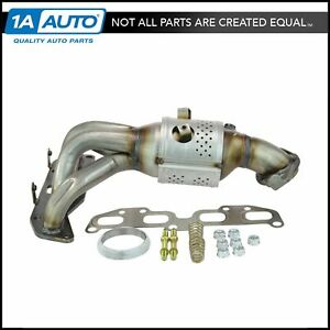 Exhaust Manifold W Catalytic Converter 2 5l For 02 06 Nissan Sentra Altima