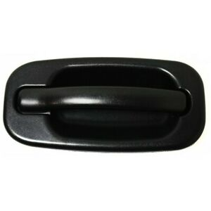 Door Handle For 1999 2006 Chevy Silverado 1500 Textured Black Front Right Outer