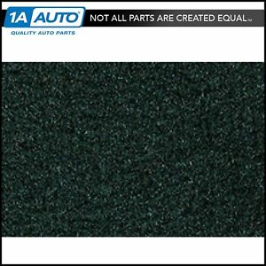 For 1987 95 Jeep Wrangler Cutpile 7980 dark Green Complete Carpet Molded