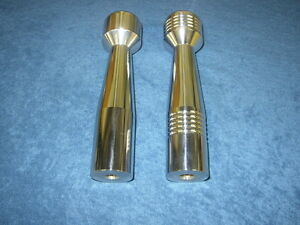 Chevy S10 Billet Manual Shifter Handle Knob 98 Up New Polished Finish