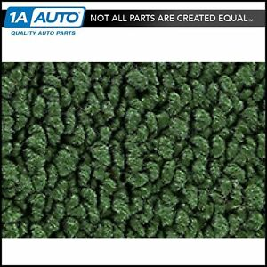 For 1970 72 Chevy Monte Carlo 80 20 Loop 45 Green Complete Carpet Molded