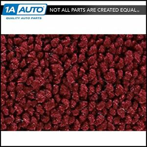 For 1966 73 Ford Bronco 80 20 Loop 13 Maroon Passenger Area Carpet Molded