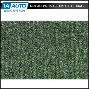For 1974 78 Cadillac Eldorado Cutpile 4880 sage Green Complete Carpet Molded