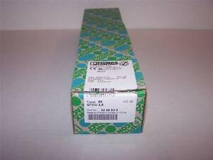 Phoenix Contact Qtcu 2 5 Terminal Block 3206539 New In Box Lot Of 50