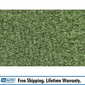 For 1974 77 Ford Maverick 4 Door Cutpile 869 willow Green Complete Carpet Molded