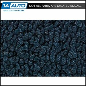 For 1967 68 Mercury Cougar Coupe 80 20 Loop 07 Dark Blue Complete Carpet Molded