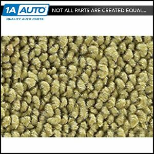 For 1971 73 Cadillac Calais 4 Door 80 20 Loop 04 Ivy Gold Complete Carpet Molded
