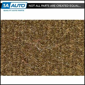 For 83 95 Ranger Regular Cab Cutpile 4640 dark Saddle Complete Carpet Molded