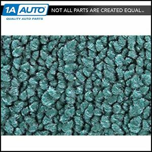 For 1967 73 Dodge Dart 4 Door 80 20 Loop 15 Teal Complete Carpet Molded
