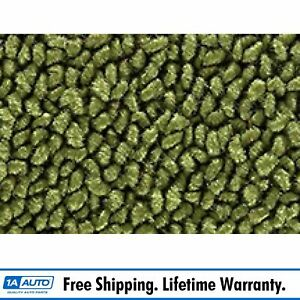 For 67 69 Plymouth Barracuda 80 20 Loop 14 moss Green Cargo Area Carpet Fastback