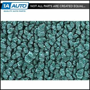 For 1963 66 Plymouth Valiant 4 Door 80 20 Loop 15 teal Complete Carpet Molded