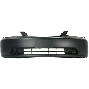 Front Bumper Cover For 2001 2003 Honda Civic Primed 04711s5pa90zz