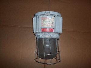 Crouse Hinds Dmvm100 mt M9 Explosion Proof Light Lamp 100w 120 208 240 277v