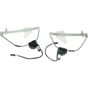 Power Window Regulator For 2001 2004 Jeep Grand Cherokee Set Of 2 Rear