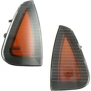 Side Marker Parking Turn Signal Corner Lights Pair Set New For 06 10 Charger