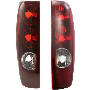 Set Of 2 Tail Light For 2004 2005 Chevrolet Colorado Sport Ls Lh Rh