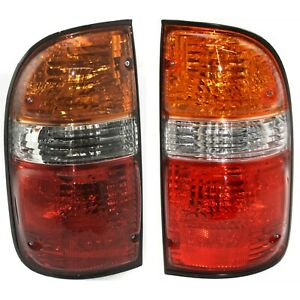 Pair Tail Light For 2001 2004 Toyota Tacoma Driver Passenger Side
