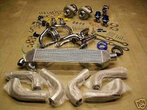 Chevy Sbc 1000 Horsepower Twin Turbo Kit 1982 1992 Camaro Trans Am Gm 350 355