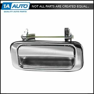 Door Handle Outside Chrome Rear Lh Driver Side For 91 97 Toyota Land Cruiser