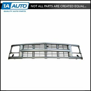 Grille Grill Dark Argent For Chevy Suburban C k Tahoe