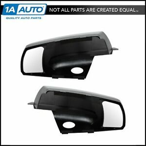 Clip On Mirror Extension Left Right Pair Set For Toyota Tundra Sequoia