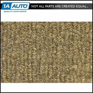 For 84 88 Toyota Pickup Extended Cab Cutpile 7140 medium Saddle Complete Carpet