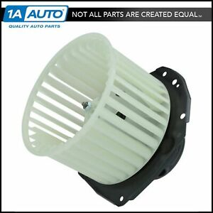 A c Heater Blower Motor W Fan Cage For Buick Cadillac Chevy Gmc Olds Pontiac