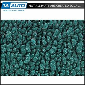 1962 64 Plymouth Fury 4 Door 05 aqua Carpet For Automatic Transmission
