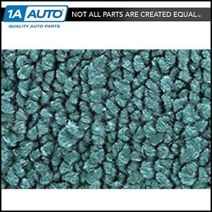 1970 73 Plymouth Duster 2 Door 15 teal Carpet For Automatic Transmission