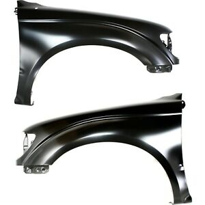 Fender For 2001 2004 Toyota Tacoma Set Of 2 Front Left Right Side Primed Steel