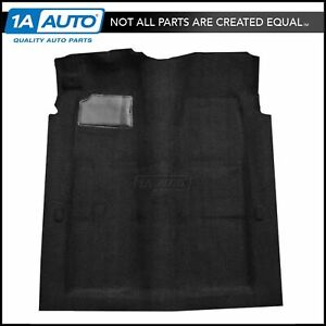 01 Black Carpet For 1969 70 Ford Galaxie 500 2 Door W Automatic Transmission